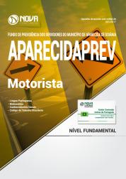 Apostila AparecidaPREV - GO - Motorista