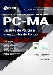 Apostila PC - MA - Escrivão de Polícia e Investigador de Polícia