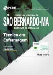 Apostila Prefeitura De São Bernardo - MA - Técnico Em Enfermagem