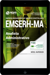 Download Apostila EMSERH - MA PDF - Analista Administrativo