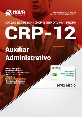 Apostila CRP - SC - Auxiliar Administrativo