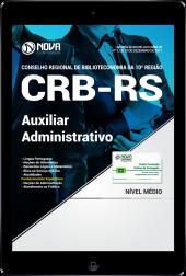 Download Apostila CRB-RS PDF - Auxiliar Administrativo