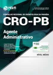 Apostila CRO - PB - Agente Administrativo