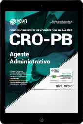 Download Apostila CRO - PB PDF - Agente Administrativo