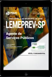 Download Apostila LEMEPREV- SP PDF - Agente de Serviços Públicos