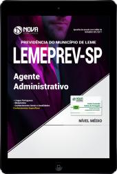 Download Apostila LEMEPREV- SP PDF - Agente Administrativo
