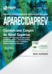Apostila AparecidaPREV - GO - Comum aos Cargos de Nível Superior
