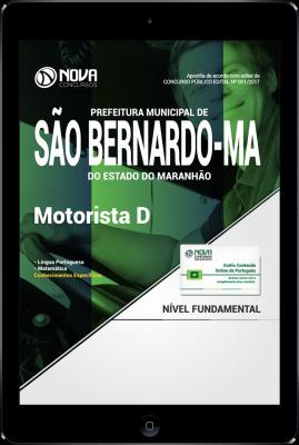 Download Apostila Prefeitura De São Bernardo - MA PDF - Motorista D