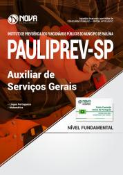 Apostila PAULIPREV - SP - Auxiliar de Serviços Gerais