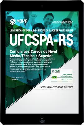Download Apostila UFCSPA - RS PDF - Comum aos Cargos de Nível Médio, Técnico e Superior