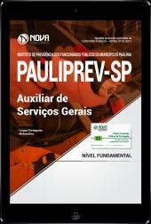 Download Apostila PAULIPREV - SP PDF - Auxiliar de Serviços Gerais