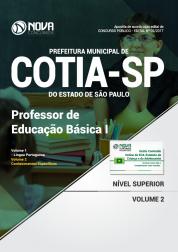 Apostila Prefeitura de Cotia - SP - Professor de Educação Básica I