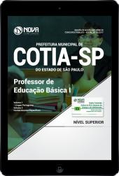 Download Apostila Prefeitura de Cotia - SP PDF - Professor de Educação Básica I
