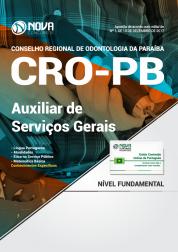 Apostila CRO - PB - Auxiliar De Serviços Gerais