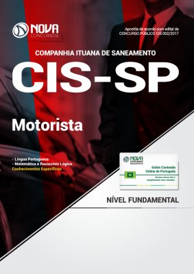 Apostila CIS - SP - Motorista