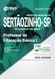 Apostila Prefeitura de Sertãozinho - SP - Professor de Educação Básica I