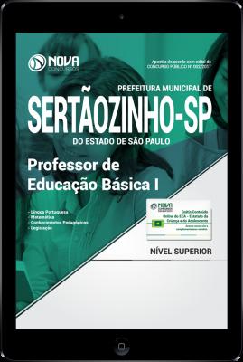 Download Apostila Prefeitura de Sertãozinho - SP PDF - Professor de Educação Básica I