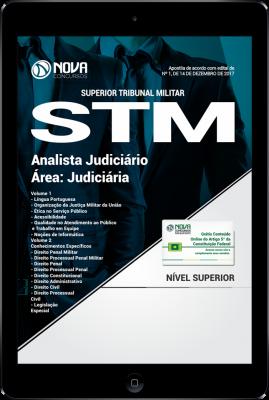 Download Apostila STM PDF - Analista Judiciário - Área Judiciária