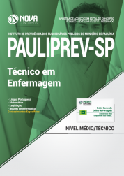 Apostila PAULIPREV - SP - Técnico em Enfermagem