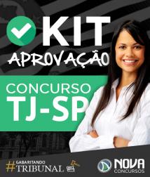 Kit Aprovação TJ-SP Interior - Escrevente - Frete Grátis