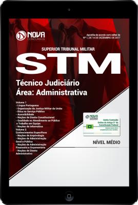 Download Apostila STM PDF - Técnico Judiciário - Área Administrativa
