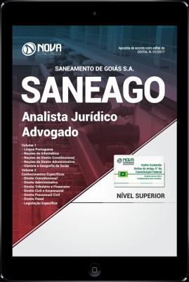 Download Apostila SANEAGO PDF - Analista Jurídico - Advogado