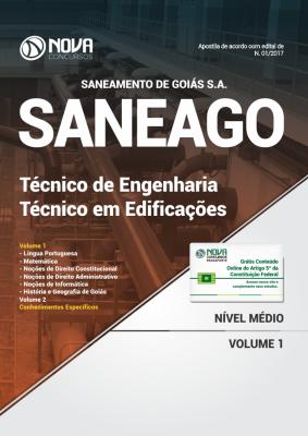 Apostila SANEAGO - Técnico de Engenharia - Técnico em Edificações