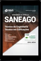 Download Apostila SANEAGO PDF - Técnico de Engenharia - Técnico em Edificações