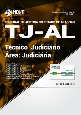 Apostila TJ-AL - Técnico Judiciário - Área Judiciária