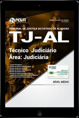 Download Apostila TJ-AL PDF - Técnico Judiciário - Área Judiciária