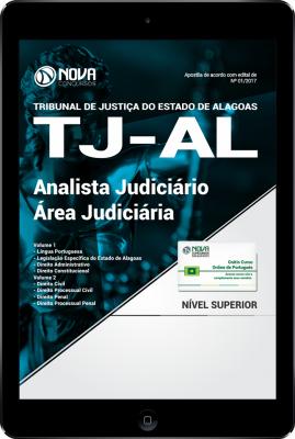 Download Apostila TJ-AL PDF - Analista Judiciário - Área Judiciária