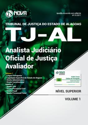 Apostila TJ-AL - Analista Judiciário - Oficial De Justiça Avaliador