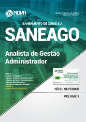 Apostila SANEAGO - Analista de Gestão - Administrador