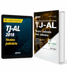 Combo TJ-AL - Técnico Judiciário