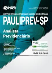 Apostila PAULIPREV - SP - Analista Previdenciário