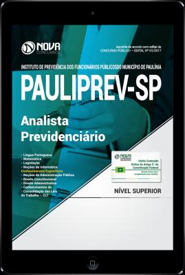 Download Apostila PAULIPREV - SP PDF - Analista Previdenciário