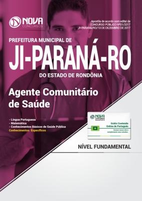 Apostila Prefeitura de Ji-Paraná-RO - Agente Comunitário de Saúde