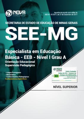 Apostila SEE-MG - EEB - Nível I Grau A: Orientação Educacional/Supervisão Pedagógica
