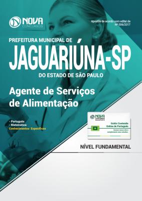 Apostila Prefeitura de Jaguariúna-SP - Agente de Serviços de Alimentação