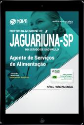 Download Apostila Prefeitura de Jaguariúna-SP PDF - Agente de Serviços de Alimentação