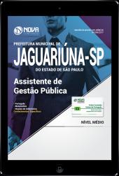 Download Apostila Prefeitura de Jaguariúna-SP PDF - Assistente de Gestão Pública