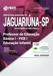 Apostila Prefeitura Municipal de Jaguariúna-SP - Professor de Educação Básica I - PEB I - Educação Infantil