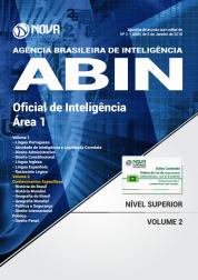 Apostila ABIN - Oficial de Inteligência - Área 1