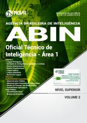 Apostila ABIN - Oficial Técnico de Inteligência - Área 1