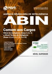 Apostila ABIN - Comum aos Cargos de Oficial e Técnico de Inteligência