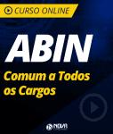 Curso ABIN - Comum a Todos os Cargos