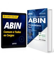 Combo ABIN - Oficial de Inteligência - Área 1