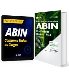 Combo ABIN - Oficial Técnico de Inteligência - Área 1