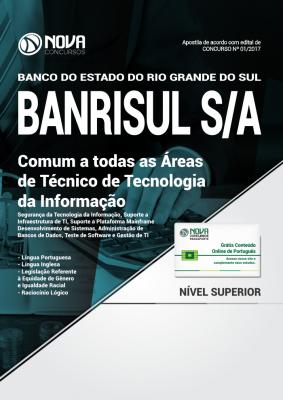 Apostila BANRISUL - Comum a Todas as Áreas de Técnico de Tecnologia da Informação
