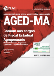 Apostila AGED-MA - Comum aos Cargos de Fiscal Estadual Agropecuário
